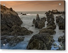 Seaside In My Memory Acrylic Print by Tad Kanazaki