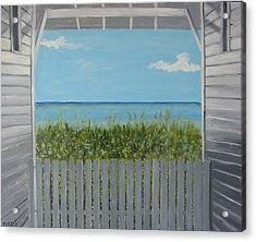 Seaside Acrylic Print by John Terry