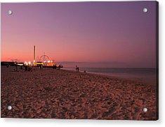 Seaside Park I - Jersey Shore Acrylic Print by Angie Tirado