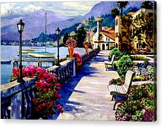 Seaside Pathway Acrylic Print