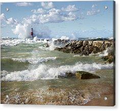Seaside Splash Acrylic Print