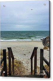 Seaside Steps Acrylic Print