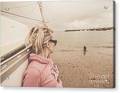 Seaside Stopover Acrylic Print by Jorgo Photography - Wall Art Gallery