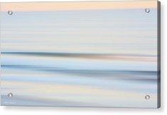 Seaside Waves  Acrylic Print by Glenn Gemmell