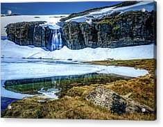 Acrylic Print featuring the photograph Seasonal Worker by Dmytro Korol