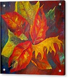 Seasons End Acrylic Print by Carolyn Saine