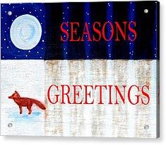Seasons Greetings 13 Acrylic Print by Patrick J Murphy
