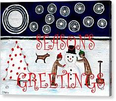 Seasons Greetings 14 Acrylic Print by Patrick J Murphy