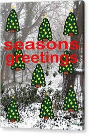Seasons Greetings 8 Acrylic Print by Patrick J Murphy