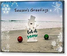 Season's Greetings Acrylic Print