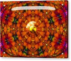 Acrylic Print featuring the digital art Seasons by Robert Orinski