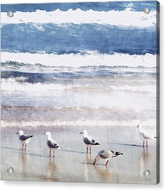 Seaspray Acrylic Print by Holly Kempe