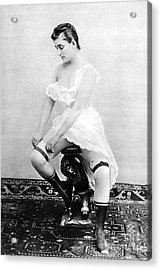 Seated Nude, C1885 Acrylic Print by Granger