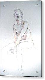 Seated Study 2 Acrylic Print