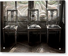 Seating Available Acrylic Print