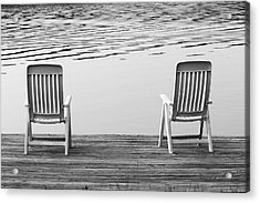Seating For Two Acrylic Print