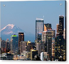 Seattle At First Light II Acrylic Print