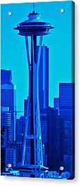 Seattle Blue Acrylic Print