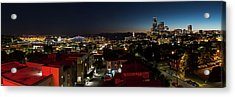 Seattle City And Port Acrylic Print