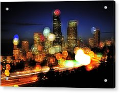Seattle Color Spots C086 Acrylic Print by Yoshiki Nakamura