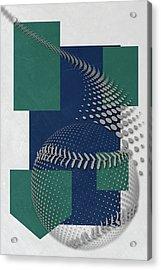 Seattle Mariners Art Acrylic Print by Joe Hamilton