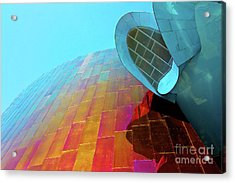 Seattle Museum Acrylic Print by Joan McCool