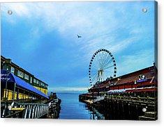 Seattle Pier 57 Acrylic Print