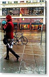 Seattle Rain Acrylic Print