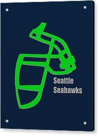 Seattle Seahawks Retro Acrylic Print