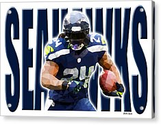 Seattle Seahawks Acrylic Print by Stephen Younts