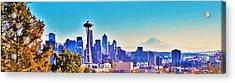 Seattle Sky Acrylic Print by Martin Cline