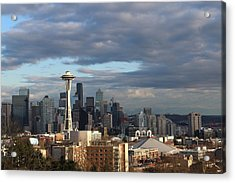 Seattle Skyline Acrylic Print