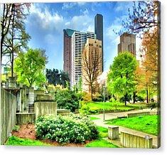 Seattle Spring Fine Art Print Acrylic Print