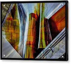 Seattle Style Acrylic Print by Scott and Amanda Anderson