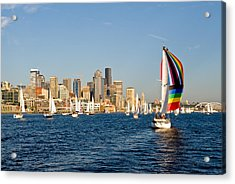 Seattle Tack Acrylic Print by Tom Dowd
