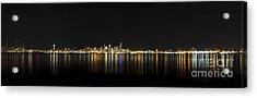 Seattle Washington Skyline From Alki Seacrest Park At 10mm Acrylic Print