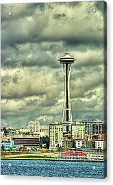 Seattle's Landmark Acrylic Print by Dale Stillman