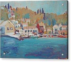 Seaview Lggos Paxos Acrylic Print