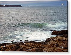 Seawall Surf Acrylic Print