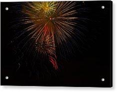Seaworld Fireworks 3 Acrylic Print