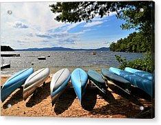 Sebago Canoes Acrylic Print