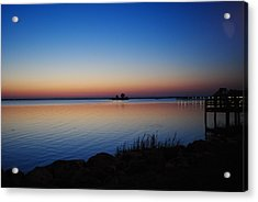 Acrylic Print featuring the photograph Sebastian Sunrise by Laura DAddona
