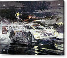 Sebring 12 Hour Acrylic Print by Don Getz
