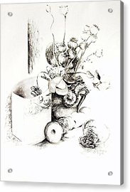 Sec Acrylic Print by Muriel Dolemieux