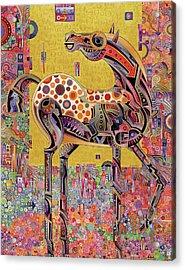 Secessionist Horse Acrylic Print