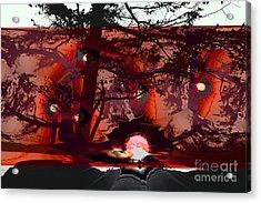 Sechelt Sunset 5 Acrylic Print