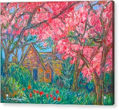 Secluded Home Acrylic Print