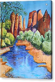 Secluded In Sedona Acrylic Print