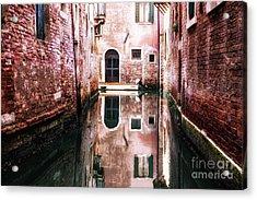 Secluded Venice Acrylic Print