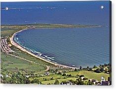 Second Beach Newport Rhode Island Acrylic Print